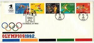 NUSSBAUM ORIGINAL 1 of 1 MADE! LOVE BOOKLET PANE 1991 Los Angeles Olympics Set