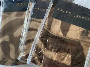 RALPH LAUREN VICTORIA FALLS ZEBRA SATIN Duvet Cover Set KING LUXURY