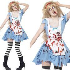 Halloween Femmes Zombie Malice Costume Déguisement Alice Costume Par Smiffys