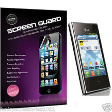 5 Pack High Quality Excellent Scratch Screen Protector for LG L3 E400