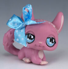Littlest Pet Shop Chinchilla #599 Pink With Blue Eyes