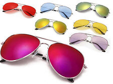 Classic Sunglasses Lens Mens Ladies Kids 80s Womens Retro Vintage Fashion UV400