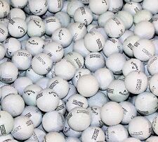 100 Callaway White Practice/ Range AAAA/AAA Used Golf Balls