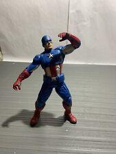 "2012 Marvel Avengers 10"" Electronic Talking Captain America Action Figure"
