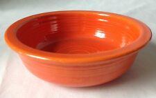 """Vintage Fiesta Ware Red Orange Fruit Bowl Homer Laughlin Fiestaware 5.5"""" As Is"""