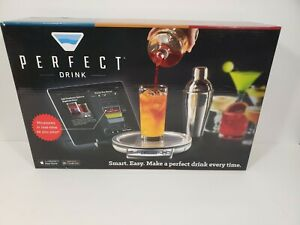 PERFECT DRINK Smart Scale NEW Open Box Interactive Bluetooth App with Shaker