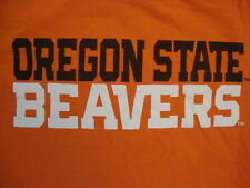 Ncaa Oregon State Beavers College university School Student Fan Orange T Shirt S
