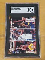 1993 Hoops #290 Shaquille O'Neal SGC 10 Newly Graded League Leaders Blocks RARE!