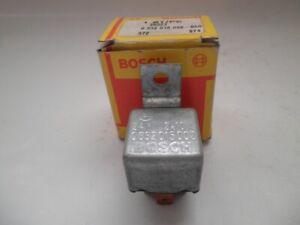 Bosch 0332015002 Relais Arbeitsstrom SchalterfunktionRelay le relais el relé