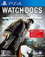 WATCH DOGS UBISOFT SONY PS4 PLAYSTATION JAPANESE NEW JAPANZON