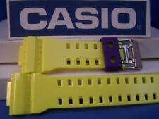 Casio Watch Band GA-110 HC-6AV.Glossy Yellow G-Shock.Orig. Two-Piece  Strap Resi