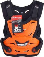 Protections poitrine automobile orange