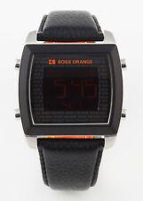 HUGO BOSS ORANGE Digital Multifunktions Herren Uhr Licht Alarm NEU HB 1512609