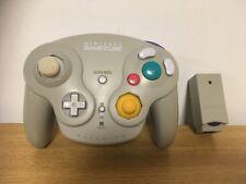 Oficial Controlador Gamepad inalámbrico Nintendo Con Dongle-Gris (Gamecube) D77