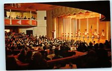 *American Women Majorettes Batons Drums John Ascuaga's Nugget Reno Postcard B63