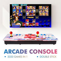 3333 in 1 12S Retro Video Games Box Double Stick Classic Arcade Console XC802US
