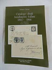Adriano Cattani Catalogo degli annullamenti italiani 1860-1866 con valutazioni