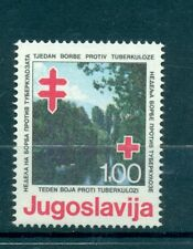 CROCE ROSSA - RED CROSS YUGOSLAVIA 1980 TB Campaign Charity Stamps