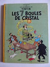 Hergé - Tintin. Les 7 boules de cristal  / 1964 - B35