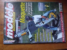 $$5 Revue modele magazine N°629 PLan encarte Gee Bee R2  Spitfire  Me 109  3D