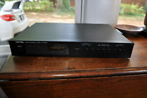 Rotel RT-850A AM/FM Stereo Tuner Vintage Classic Zero Issue 100% Functional