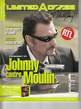 LIMITED ACCESS N°4 / JOHNNY HALLYDAY / MAGAZINE DU CLUB