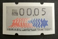 ISRAEL KLUSSENDORF, NICE ERROR 2 ZEROS BEFORE THE POINT PAPER 3, #028 MNH, #n132