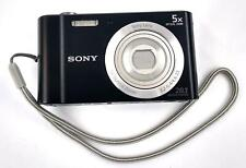 Sony Cyber-shot DSC-W800 20.1MP Digital Camera 720P 5x Zoom Black