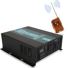 Power Inverter 24V to 120V 1000W Pure Sine Wave Solar Home System Camp Remote Rv