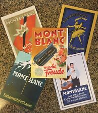 Montblanc Vintage Style Postcards ~ Suitable For Framing!