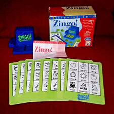 Discovery ZINGO! Game A Twist on Bingo Complete in Box Instructions 2005
