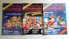 3x Club Nintendo Magazin, Heft 2,5 & 6/1993, Seiten fehlen, Street Fighter