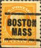 Vintage Scott #472 US 1916 10c Franklin Perforated 10