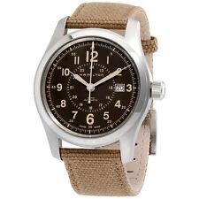 Hamilton Khaki Field Auto Brown Dial Mens Watch H70605993