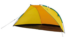 Easy Camp Summer Beach Single Skin Structure - Orange/Yellow, One Size