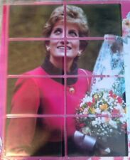 Uk Princess Diana phonecards new. Puzzle set of 8. Limited Edition of 400 only.