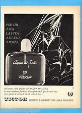 QUATTROR962-PUBBLICITA'/ADVERTISING-1962- VICTOR - ACQUA DI SELVA