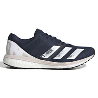 Adidas Adizero Boston 8 Womens Running Shoes Boost - Navy Blue - Size 5