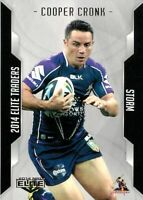✺New✺ 2014 MELBOURNE STORM NRL Card COOPER CRONK Elite