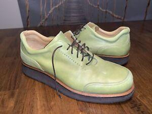 Bally Rutger Green Shoes - US Men 8.5 10.5