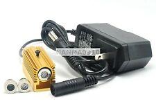 20mw 405nm Violet/Blue Laser Dot Line Cross Module w/5V Adapter & Heatsink
