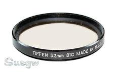 52mm Tiffen 81C Lens Filter