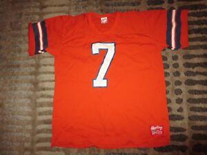John Elway #7 Denver Broncos NFL Rawlings Jersey M Medium Rookie