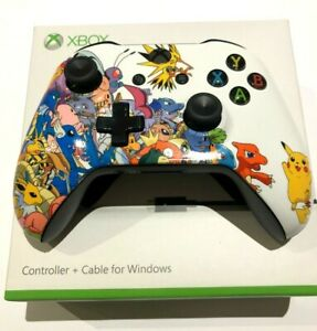Limited Edition Pokemon Pikachu Custom Wireless Xbox One S Controller new boxed