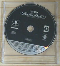 Barbie Race and Ride - Promo Gioco Completo FULL GAME - New - PlayStation 1, PSX