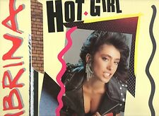 "SABRINA SALERNO disco MIX 12"" 45 g. HOT GIRL stampa FRANCESE 1988 made in FRANCE"