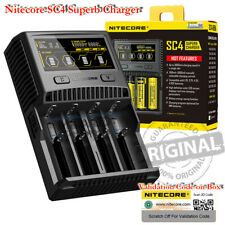 NITECORE SC4 Smart Universal 18650 Vape Mods 4 Bay Rechargeable Battery Charger