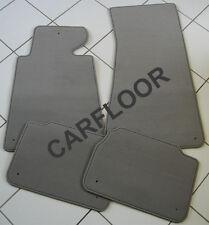 Fußmatten passend für Porsche Cayman Bj. 05-08 in Velours Deluxe hellgrau