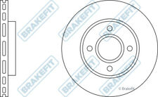 FORD FOCUS Mk1 2x Brake Discs (Pair) Vented Front 1.8 1.8D 98 to 04 258mm Set