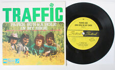 """TRAFFIC Paper Sun & A Hole In My Shoe 1967 AUSTRALIA 7"""" EP Psych 45 WINWOOD VG+"""